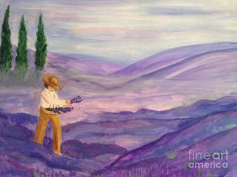 Lavender Mist by Phyllis Norris