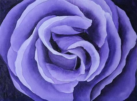 Lavender Rose by Marsha Thornton