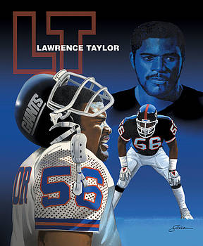 Lawrence Taylor by Harold Shull