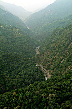 Devinder Sangha - Layers of Hills and fog