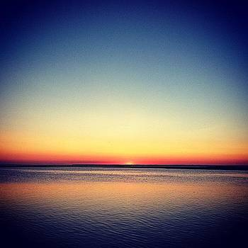#lbi #sunset #sun #summer #dusk by Matthew Tarro