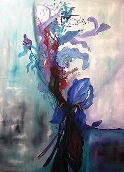 Le Bouquet by Doris Cohen