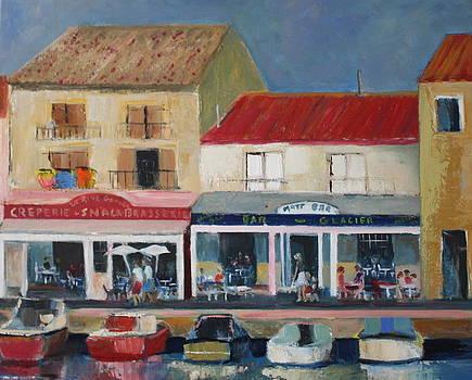 Le Port de Meze by Brigitte Roshay