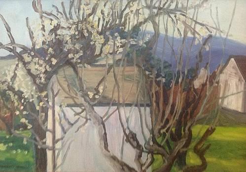 Le printemps by Kerrie B Wrye