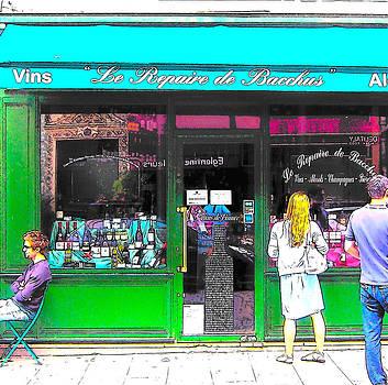 Jan Matson - Le Repaire de Bacchus wine bar in Paris