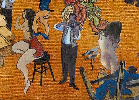 Le violoniste en Enfer by Bernard RENOT