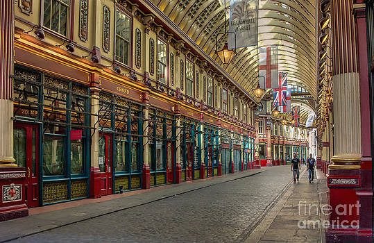 Leadenhall Market London by Donald Davis