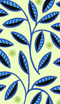 Nancy Lorene - LEAFY MOD in Green and Blue