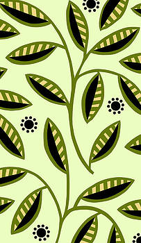Nancy Lorene - LEAFY MOD in Olive and Yellow