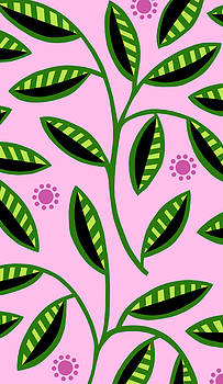 Nancy Lorene - LEAFY MOD in Pink and Green