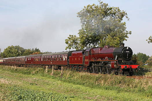 Mark Severn - leander steam train