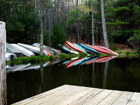 Leaning Boats by L and D Design Photography