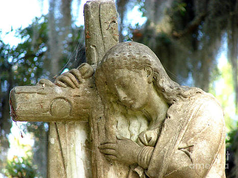 Leaning On The Cross by Leara Nicole Morris-Clark