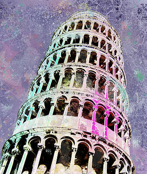 Leaning Tower of Pisa by Faye Symons