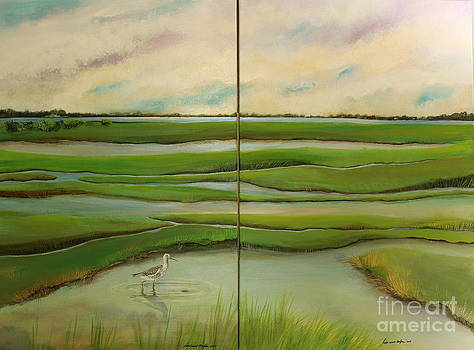 Leap of Faith and The Next Step - Diptych by Tina Siart Boylan