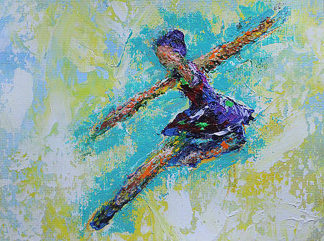 Leaping Ballet Dancer by Kristye Addison Dudley