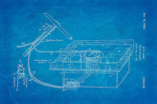 Ian Monk - Lear Motorola Car Radio Patent Art 1934 Blueprint