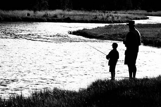 Learning To Fish by Tom Wenger