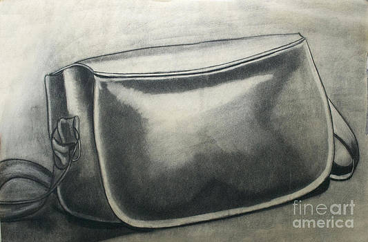 Leather Purse by Cecilia Stevens