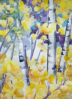 Leaves Like Glass SOLD by Therese Fowler-Bailey