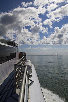 Leaving the channel by Debbie Cundy