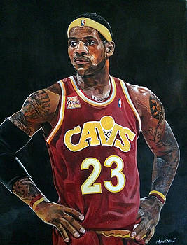 Lebron James Returns to the Cleveland Cavaliers by Michael  Pattison