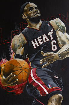 Lebron James by Ryan Doray