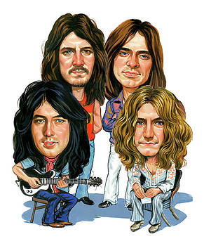 Led Zeppelin by Art