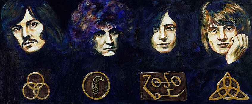 Led Zeppelin by Charles  Bickel