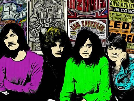 Led Zeppelin by GR Cotler