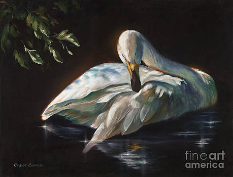 Leda's Swan by Charice Cooper