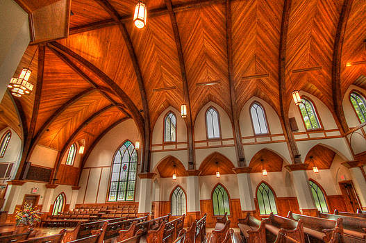 Lee university Chapel by Donna Vasquez