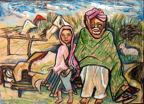 Leela and Arju - Indian life series by Prince Babu