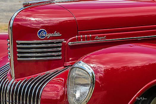 Left-Front 1939 Chrysler Royal by Barry Jones