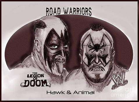 Legion of Doom- The Road Warriors by Chris  DelVecchio