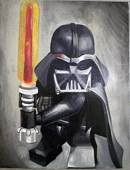 Lego Darth Vader by Nancy Mitchell