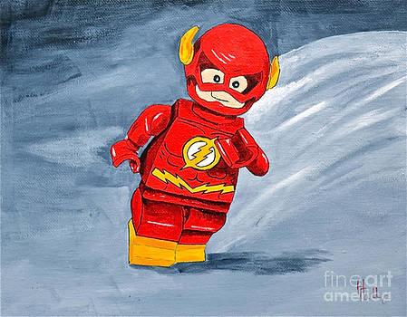 Lego Flash by Herschel Fall