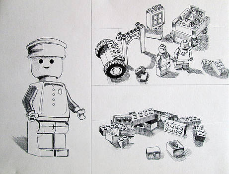 Lego Life by Caitlin Mitchell