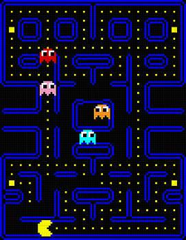Lego v. Pac-Man by GP Abrajano