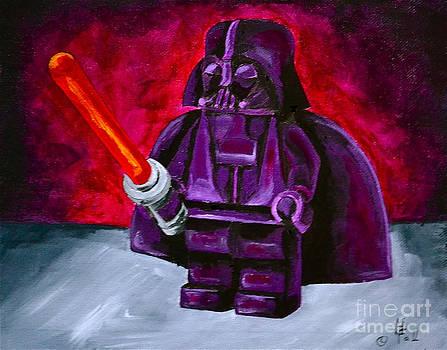 Lego Vader by Herschel Fall