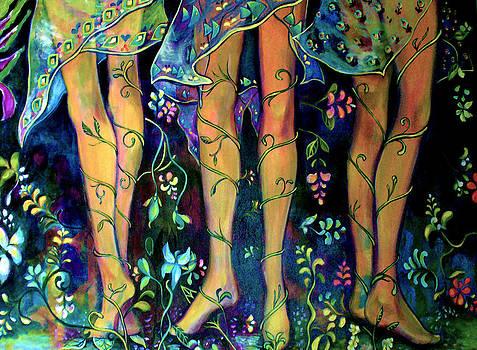 Patricia Lazaro - Legs between Vines