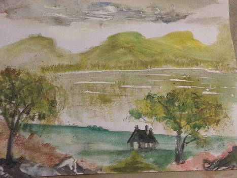 Lemon Green Mountain by Kam Abdul