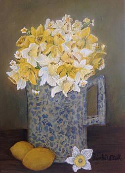 Lemon Jonquils by Linda Clark