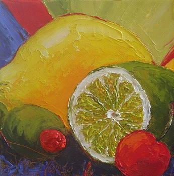 Lemon Lime and Cherry by Paris Wyatt Llanso