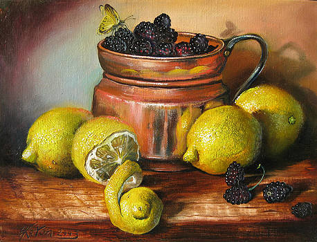 Lemons and Berries by Martin Katon