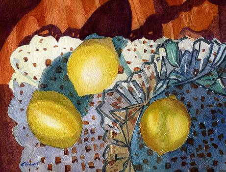 Lemons and Glass by Lynne Reichhart