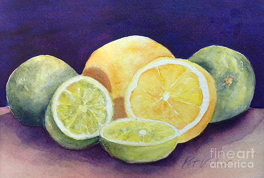 Lemons and Limes by Pat Vickers
