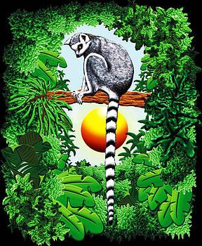 Lemur of Madagascar by BluedarkArt Lem
