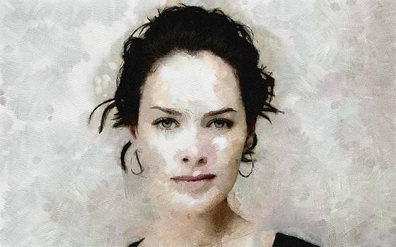 Lena by Boguslaw Florjan