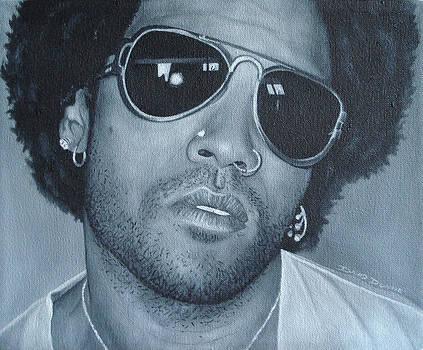 Lenny Kravitz II by David Dunne